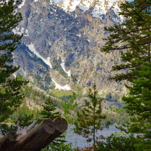 Grand Tetons view point on our hike, day before race, June 2016