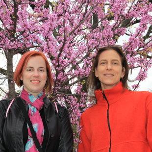Geena & Suzy @ Cherry Blossom 10 Miler, April 2016